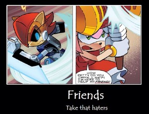 Friends Take that haters
