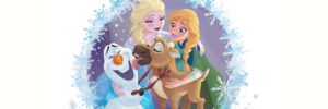 frozen - A New Reindeer Friend