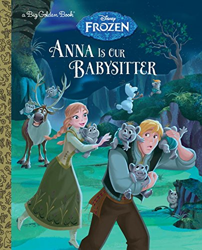 Princess Anna 바탕화면 with 아니메 entitled 겨울왕국 - Anna is Our Babysitter Book