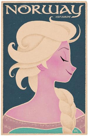 겨울왕국 Elsa Poster