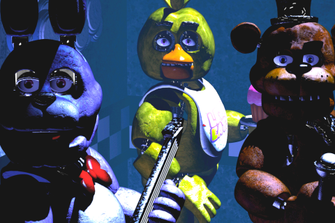 Five Nights at Freddy's achtergrond called Game Screenshot