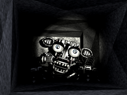 Five Nights at Freddy's 壁紙 containing a sign titled Game Screenshot