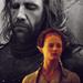 Sansa & Sandor - game-of-thrones icon