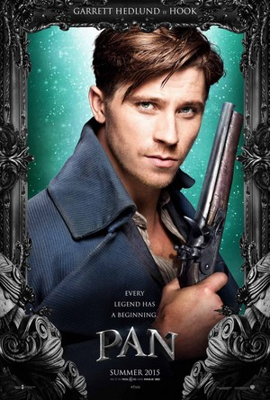 Garrett Hedlund as Hook in 'Pan' (2015)