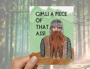 Gimli Romance Card