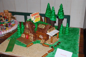 Gingerbread Contest - The Mystery Shack