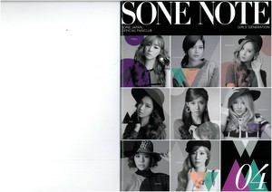 Girls Generation Sone Note