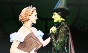 Glinda and Elphaba