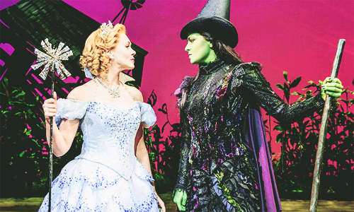 Wicked wallpaper titled Glinda and Elphaba