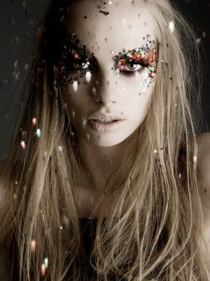 Glitter Fashion Photography