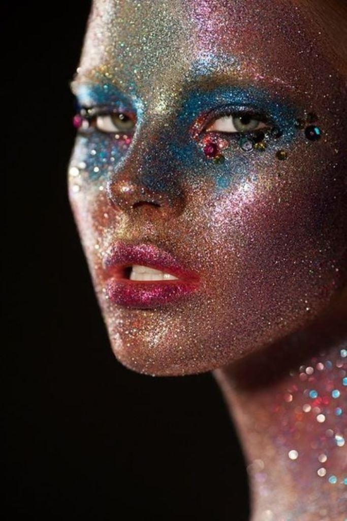 Glitter Fashion Photography