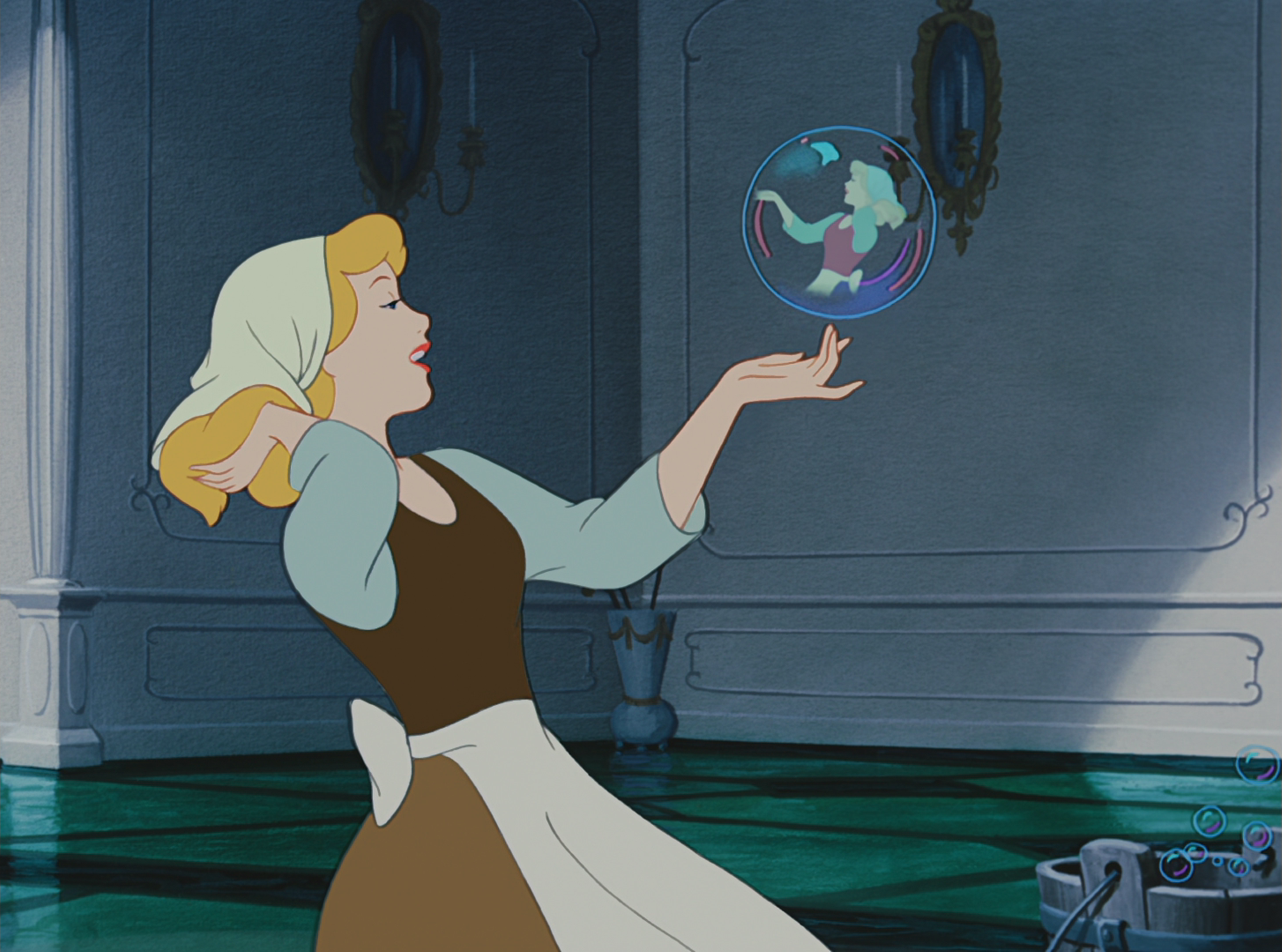 the rags to riches story of cinderella in the walt disneys version of cinderella