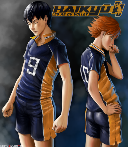 Haikyuu!!(High Kyuu!!) 壁纸 titled Haikyuu Duo !