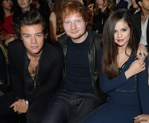 Harry,Ed, Selena