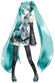 Hatsune Miku- Vocaloid