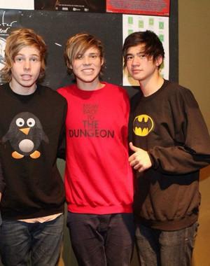 Hemmo, Ash and Cal