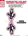 Hiro Hamada Holiday Ornament Cut-out