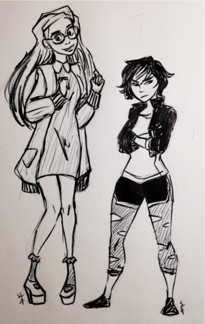 Honey chanh and GoGo Tomago