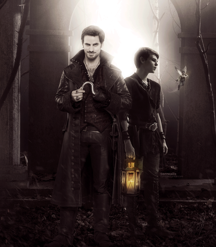 Ouat Wallpaper: Once Upon A Time Images Hook And Peter Pan HD Wallpaper