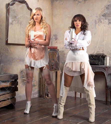 WWE Divas Images House Of Haunted Divas