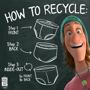 How to recycle (according to Fred)