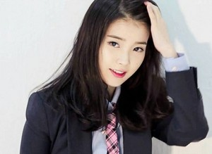 IU is so handsome