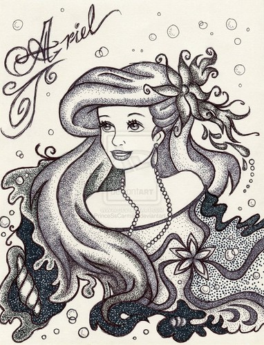 Ariel wallpaper possibly containing anime called Iconic Ariel