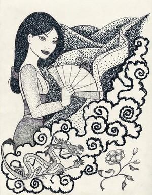Iconic Mulan
