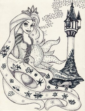 Iconic Rapunzel