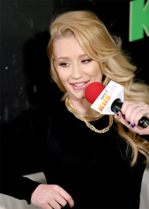 Iggy azalée attends KIIS FM's Jingle Ball 2014