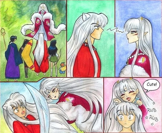 Inukimi's visit (1/3)
