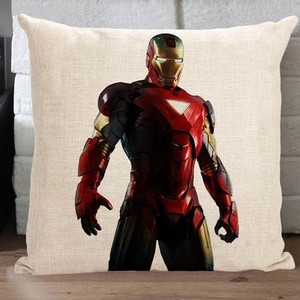 Iron Man Tony Stark throw 枕