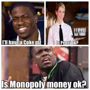 Is monopoly money okay?