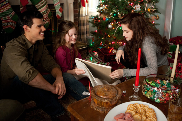 Jacob, Nessie and Bella