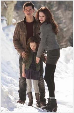 Jacob, Nessie and Bella