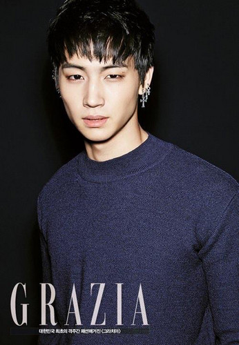 GOT7 fondo de pantalla entitled Jaebum hottie~Grazia magazine❤ ❥