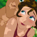 Jane and Tarzan icon - jane-porter icon