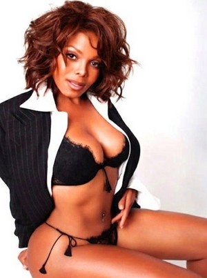 Janet Jackson in Small Clothes