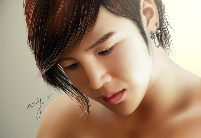 Jang Keun Suk fã Art Drawing