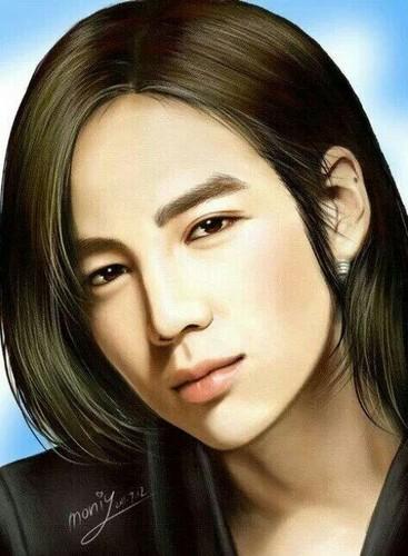 チャン・グンソク 壁紙 containing a portrait called Jang Keun Suk ファン Art Drawing