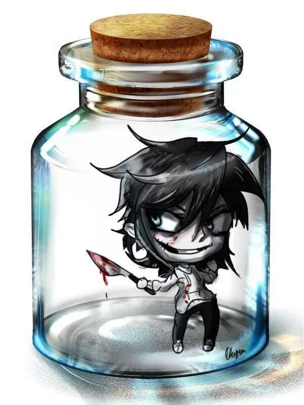 Jeff Trapped in a jar