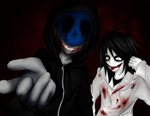 Jeff the killer Обои titled Jeff the killer and Eyeless Jack