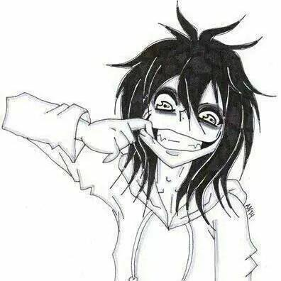Jeff the killer Обои containing Аниме called Jeff the killer smile