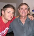 Jensen and his dad, Alan Ackles - jensen-ackles photo