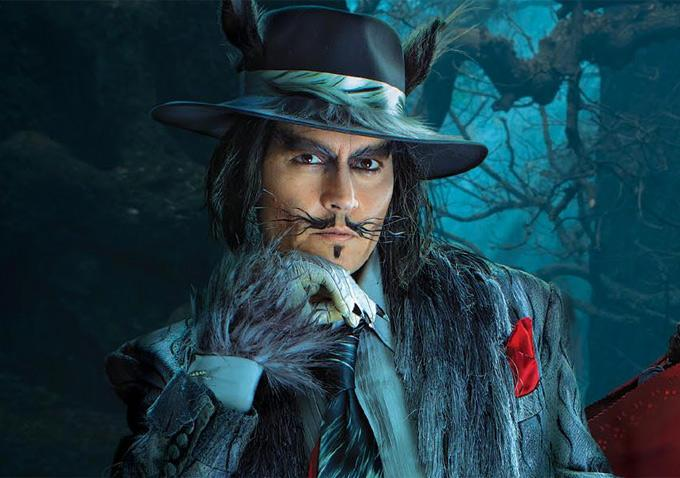 Johnny Depp as The Wolf - Into the Woods (Disney) Photo ...