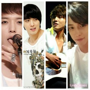 Jung Yong Hwa with white clothes
