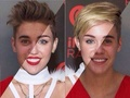Justin Bieber Looking like Miley Twerky Cyrus - justin-bieber photo