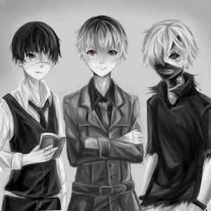 Kaneki, Haise, Shiro Kaneki