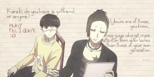 Kaneki and Uta
