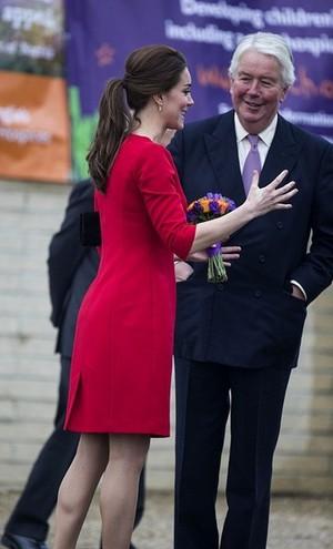 Kate Middleton Visits Norfolk